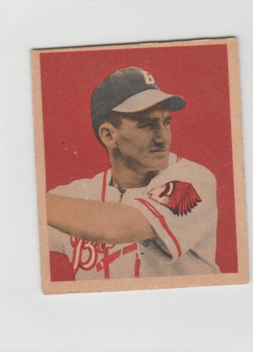 1949 Bowman #67 Alvin Dark RC