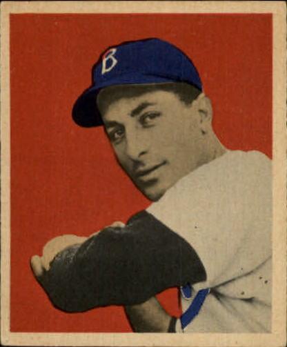 1949 Bowman #70 Carl Furillo RC