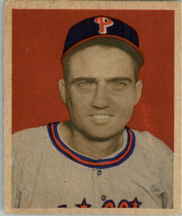1949 Bowman #108 Ken Heintzelman RC