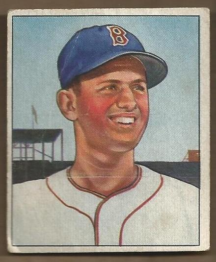1950 Bowman #1 Mel Parnell RC