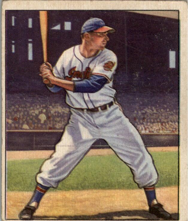 1950 Bowman #7 Jim Hegan