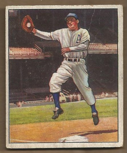 1950 Bowman #13 Ferris Fain
