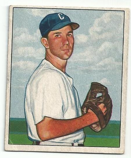 1950 Bowman #38 Bill Wight RC