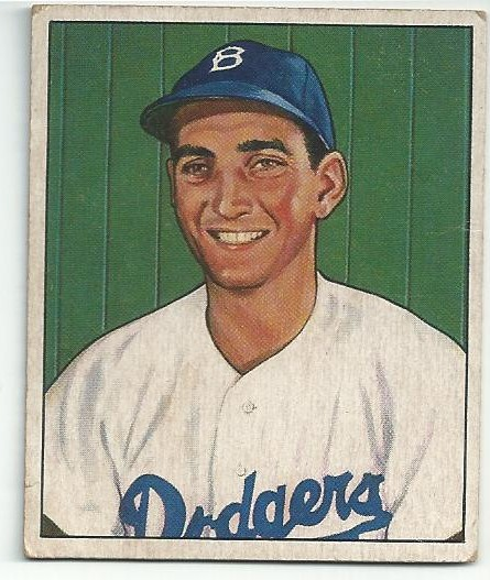 1950 Bowman #59 Ralph Branca