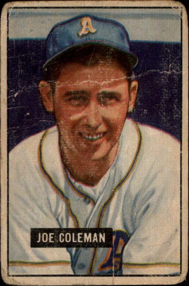 1951 Bowman #120 Joe Coleman
