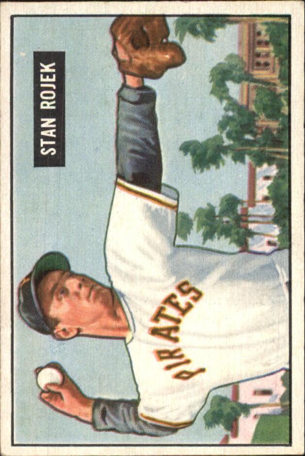 1951 Bowman #166 Stan Rojek