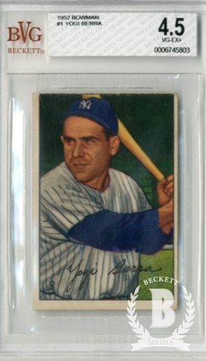 1952 Bowman #1 Yogi Berra