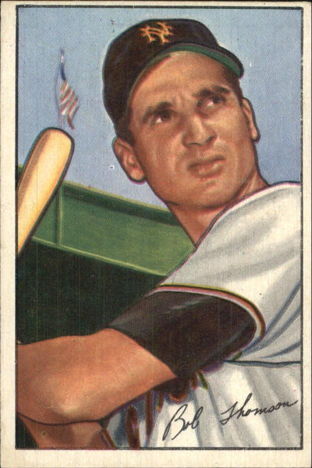 1952 Bowman #2 Bobby Thomson