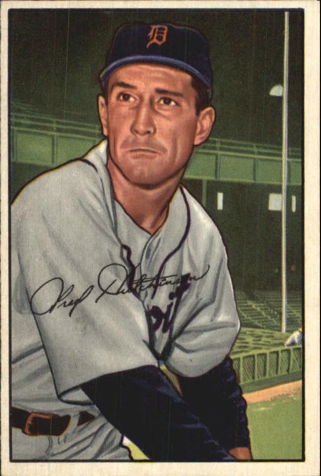 1952 Bowman #3 Fred Hutchinson