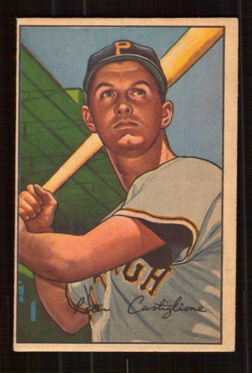 1952 Bowman #47 Pete Castiglione