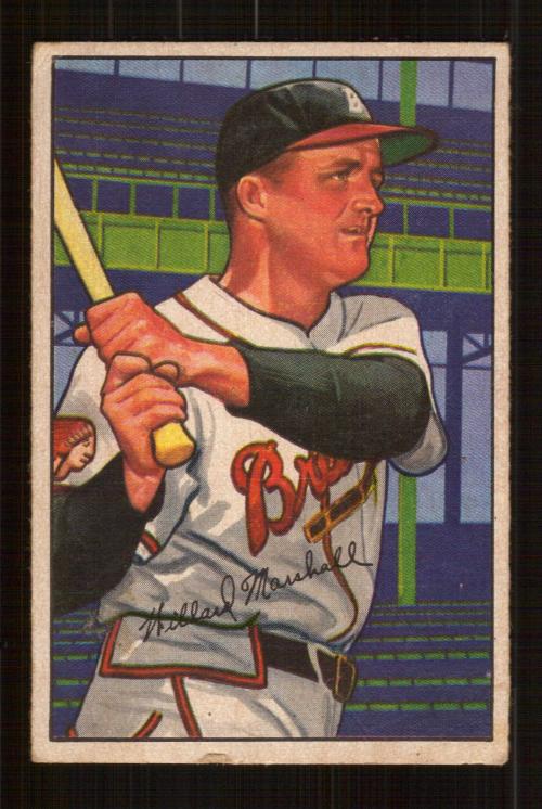 1952 Bowman #97 Willard Marshall