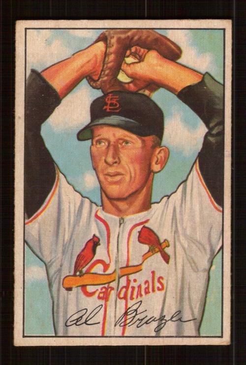 1952 Bowman #134 Al Brazle
