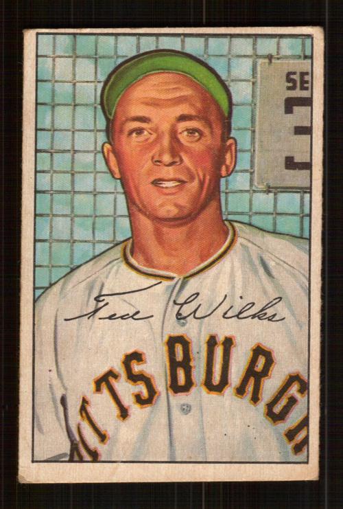 1952 Bowman #138 Ted Wilks