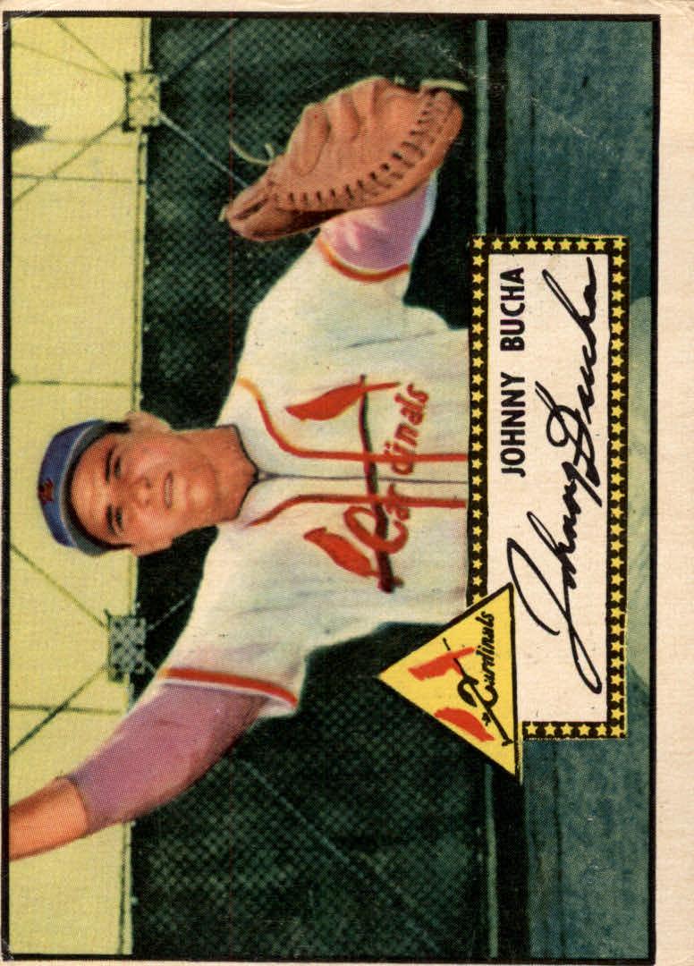 1952 Topps #19 Johnny Bucha RC