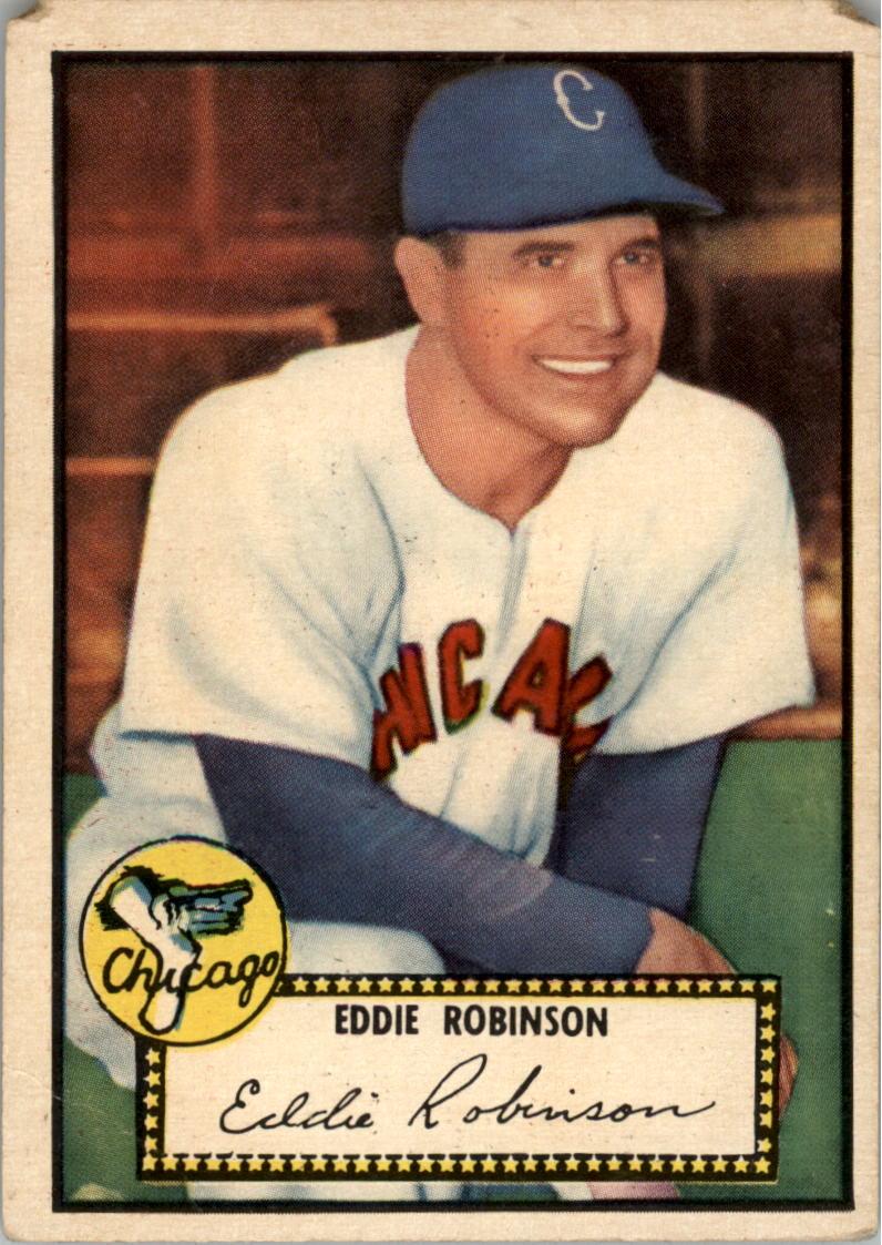 1952 Topps #32 Eddie Robinson