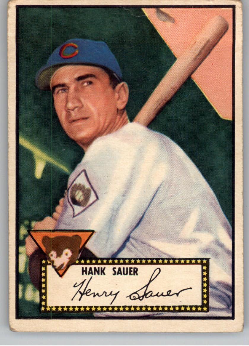 1952 Topps #35 Hank Sauer
