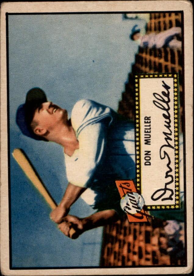 1952 Topps #52 Don Mueller