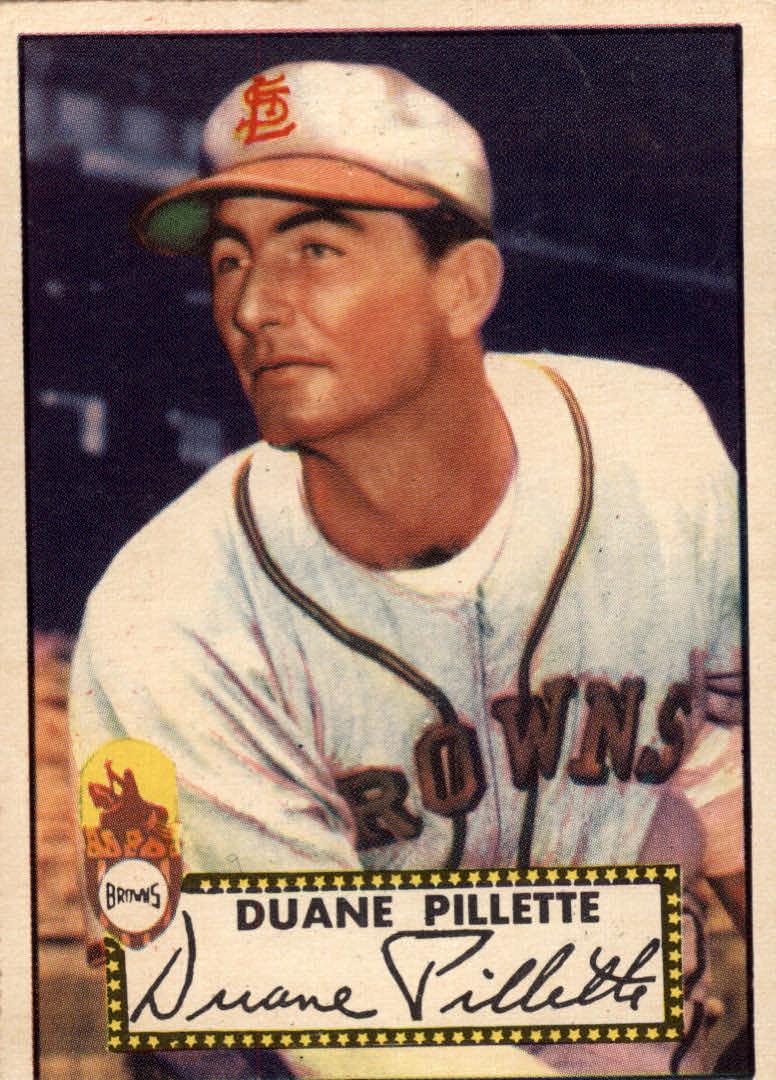 1952 Topps #82 Duane Pillette