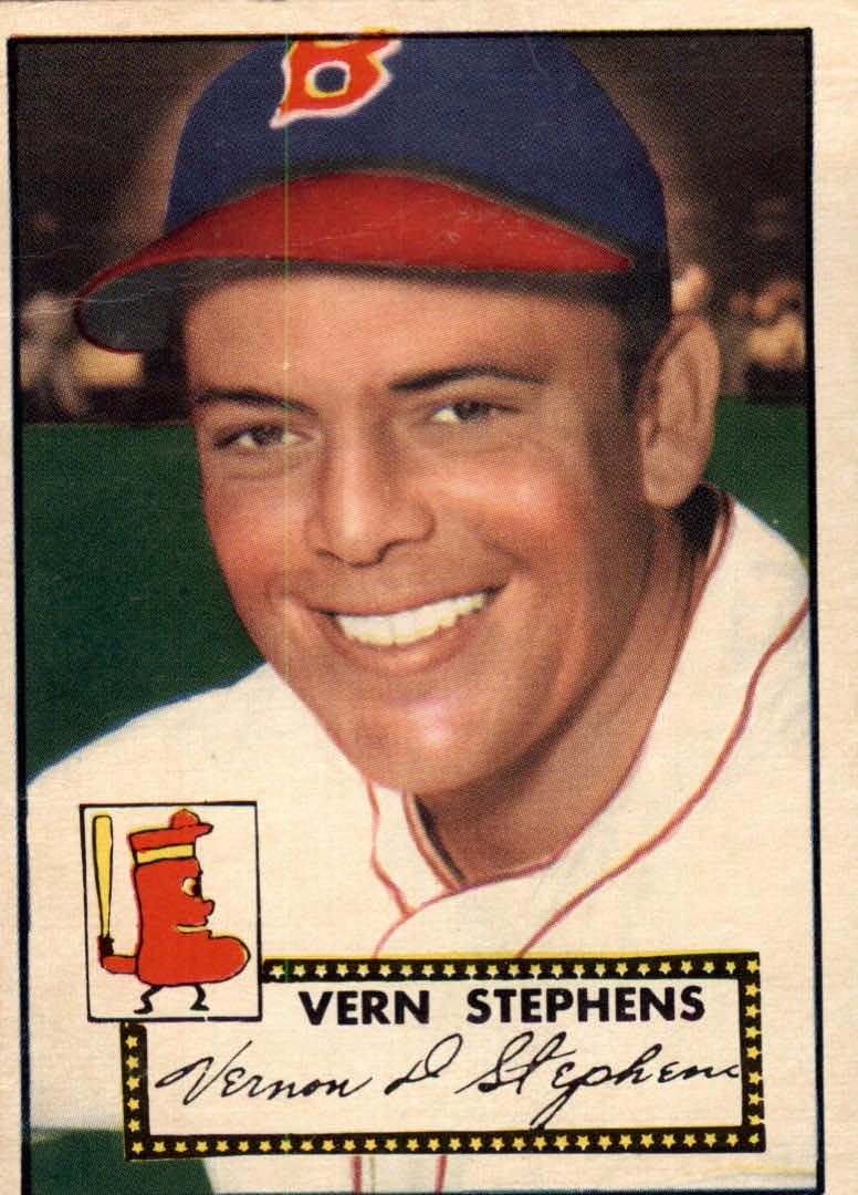 1952 Topps #84 Vern Stephens