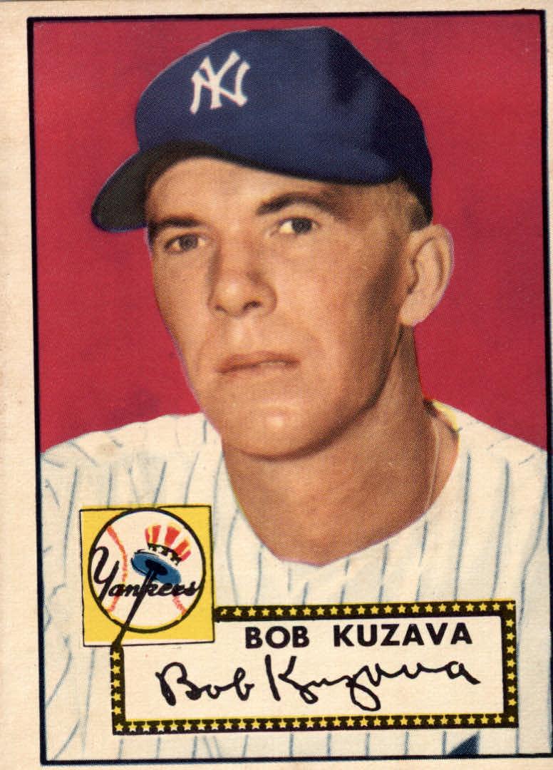 1952 Topps #85 Bob Kuzava