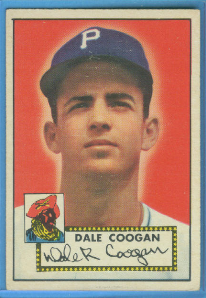 1952 Topps #87 Dale Coogan