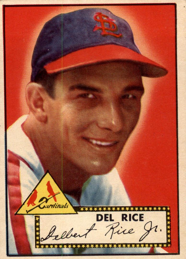 1952 Topps #100 Del Rice