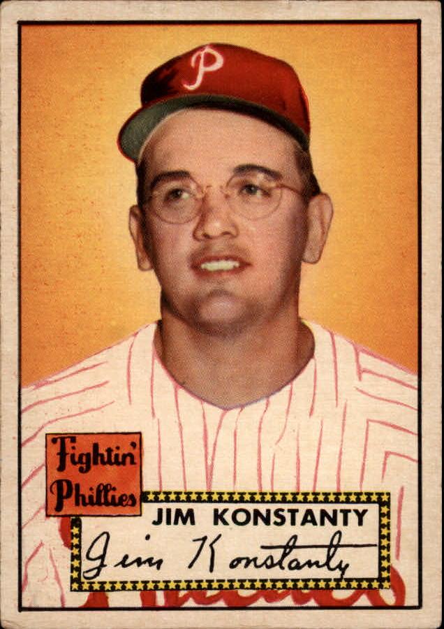 1952 Topps #108 Jim Konstanty