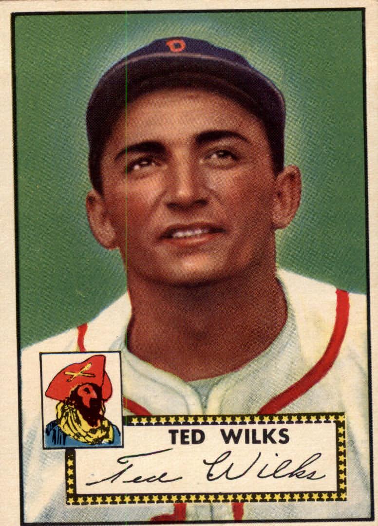 1952 Topps #109 Ted Wilks
