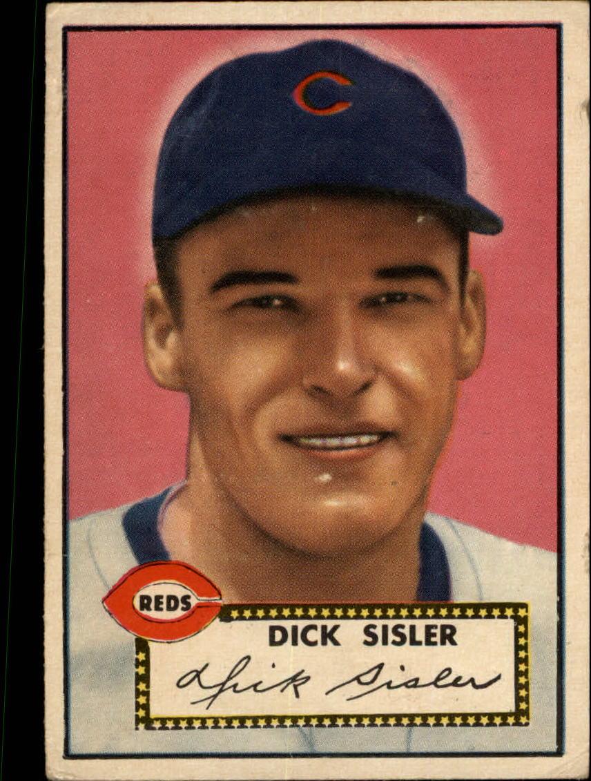 1952 Topps #113 Dick Sisler