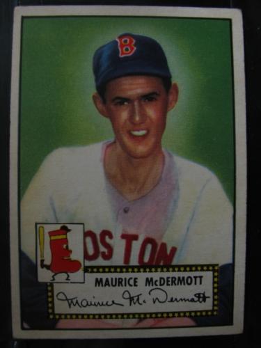 1952 Topps #119 Mickey McDermott