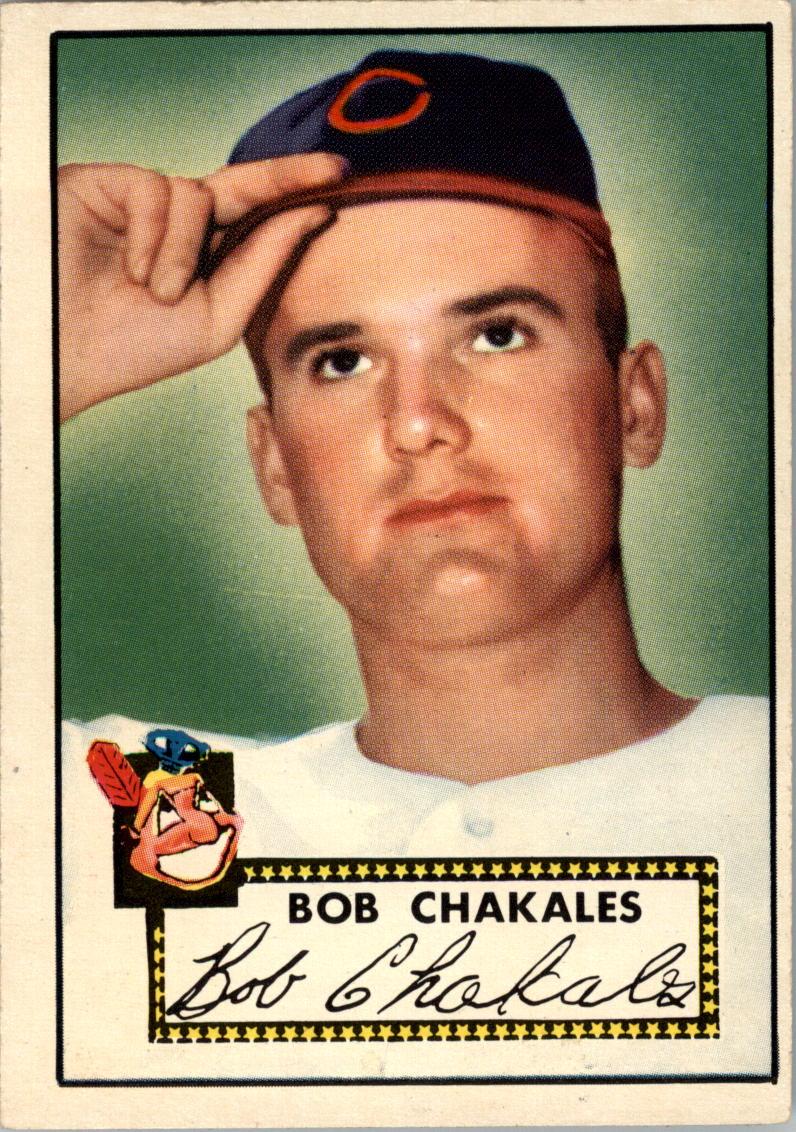 1952 Topps #120 Bob Chakales RC