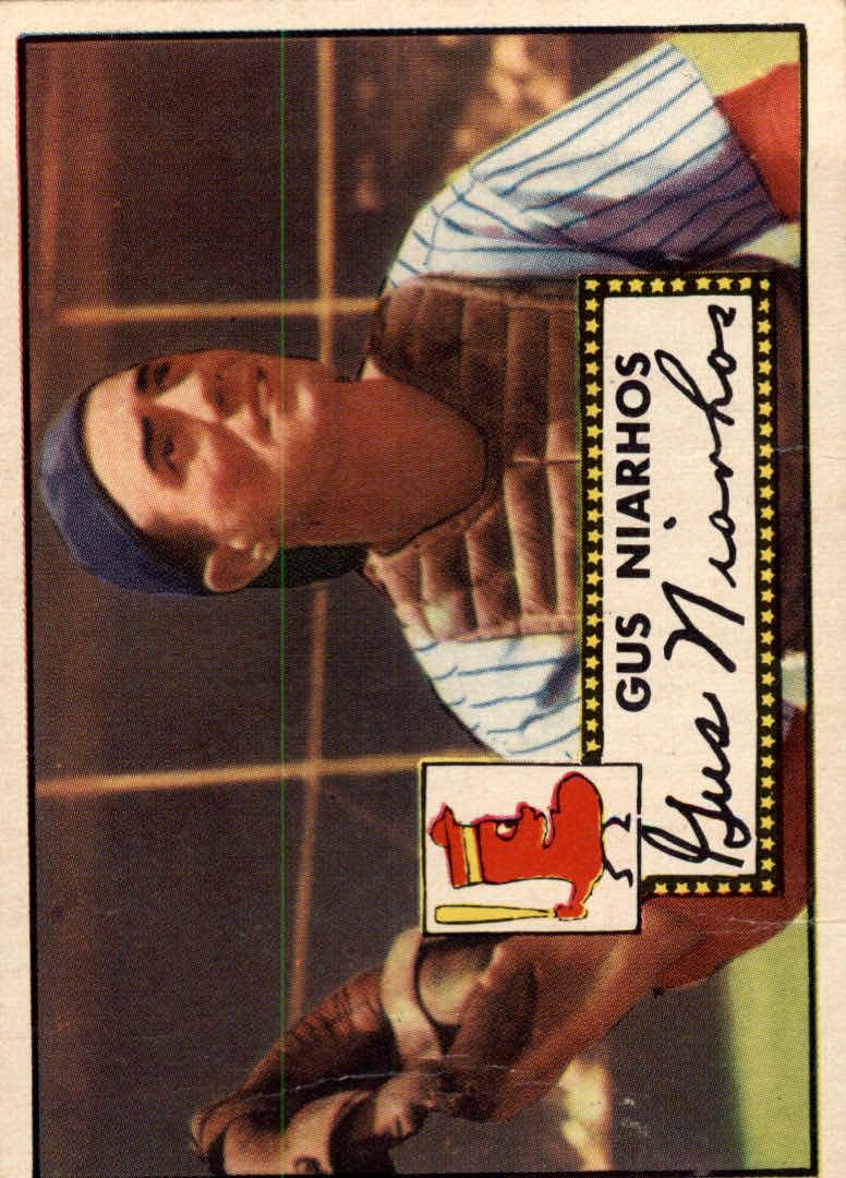 1952 Topps #121 Gus Niarhos