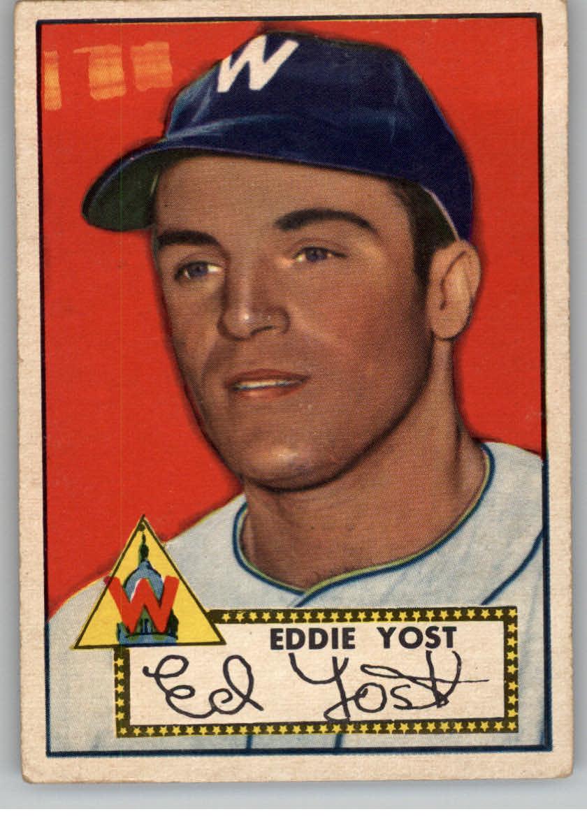 1952 Topps #123 Eddie Yost