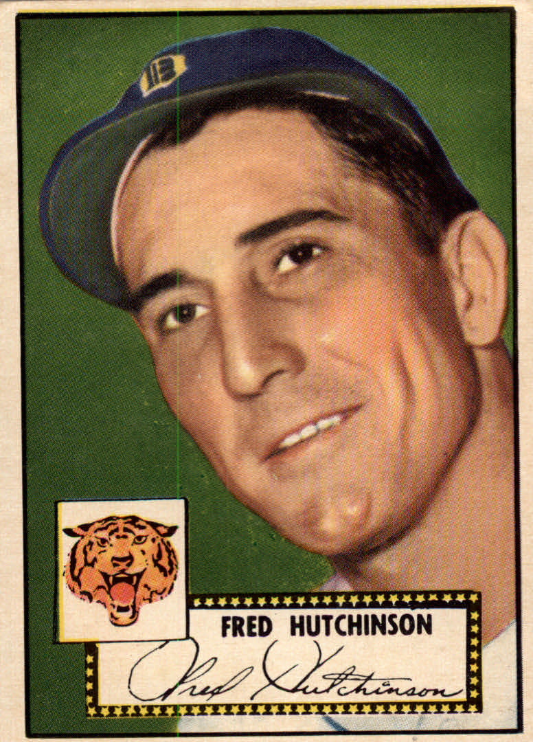 1952 Topps #126 Fred Hutchinson