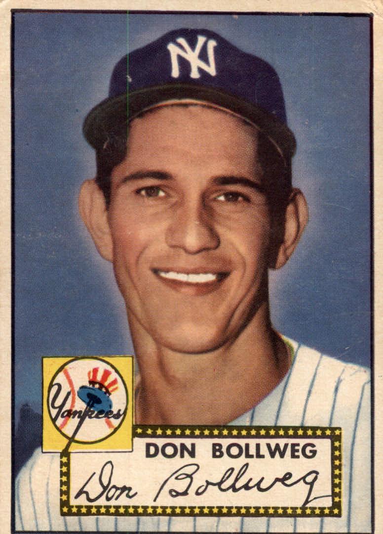 1952 Topps #128 Don Bollweg RC