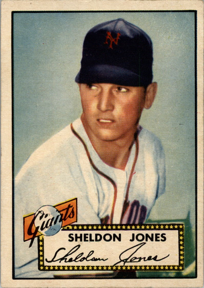 1952 Topps #130 Sheldon Jones