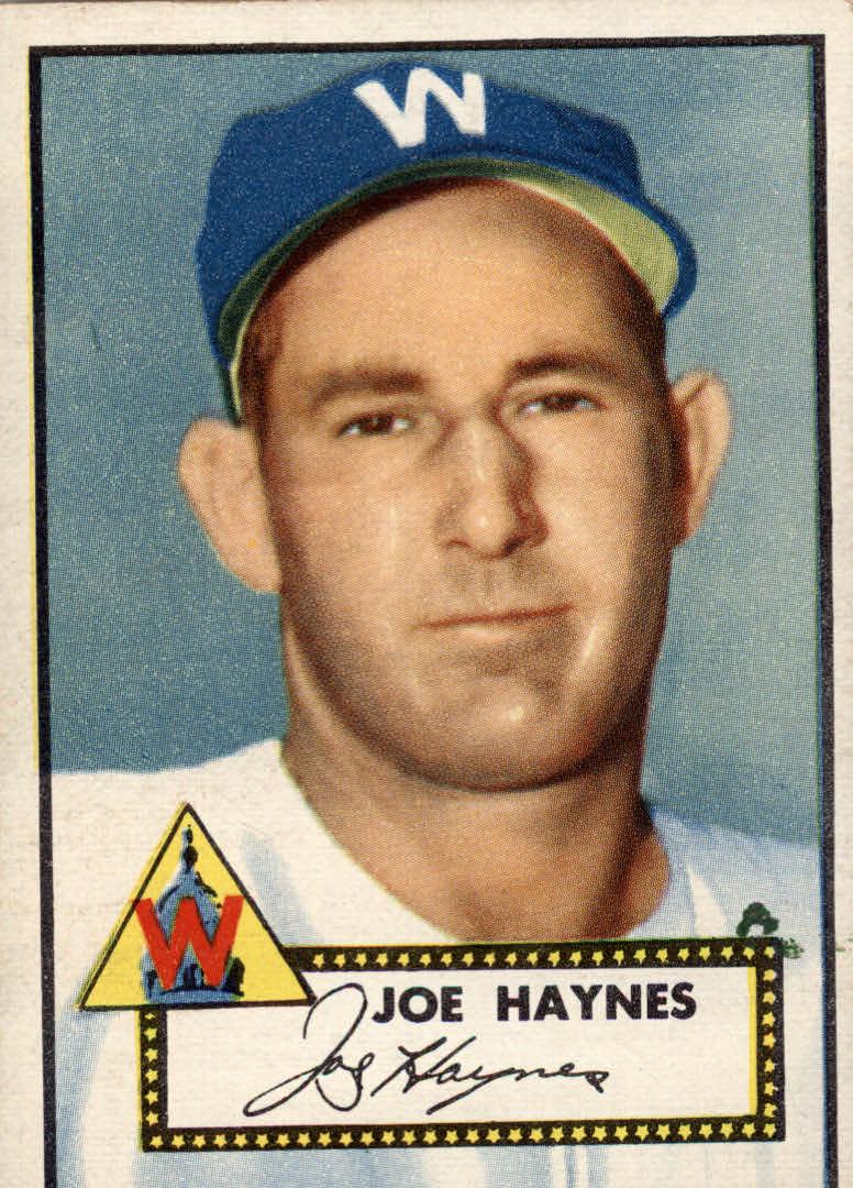 1952 Topps #145 Joe Haynes