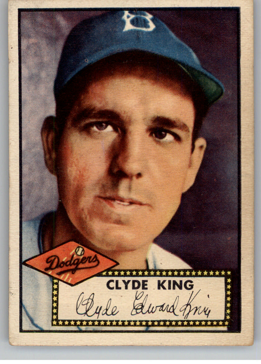 1952 Topps #205 Clyde King