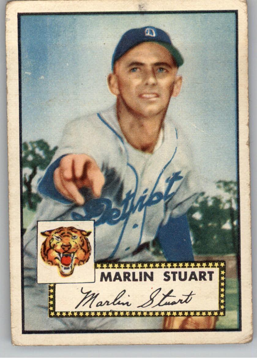1952 Topps #208 Marlin Stuart RC