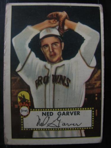 1952 Topps #212 Ned Garver