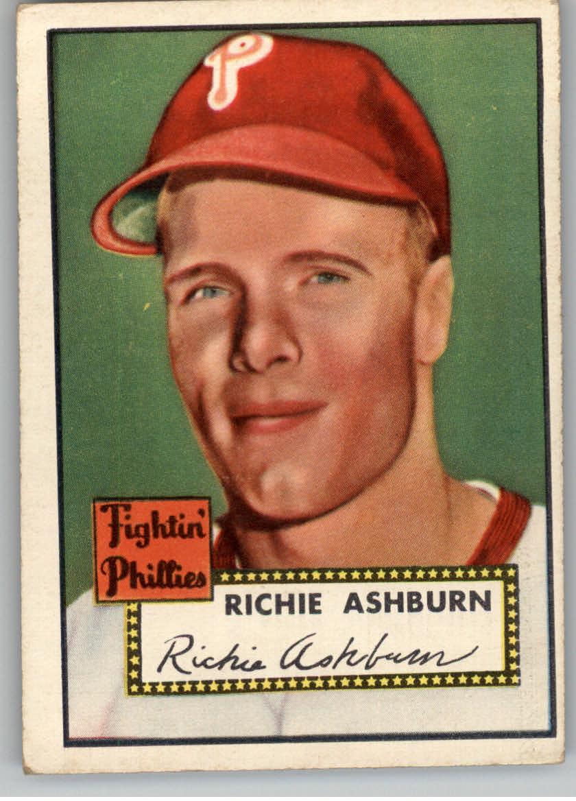 1952 Topps #216 Richie Ashburn