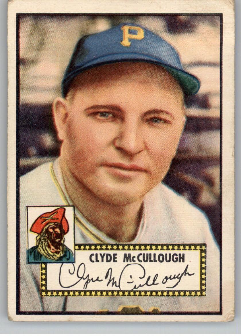 1952 Topps #218 Clyde McCullough