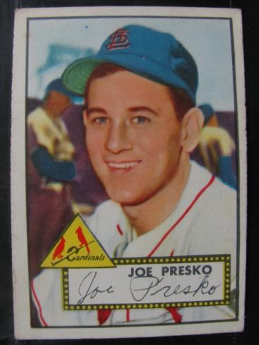 1952 Topps #220 Joe Presko RC