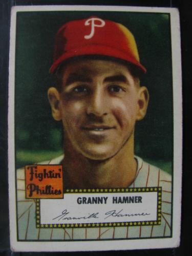 1952 Topps #221 Granny Hamner