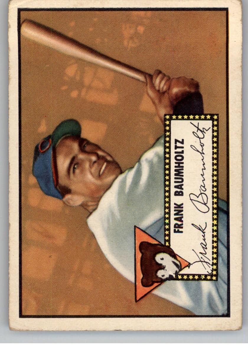 1952 Topps #225 Frank Baumholtz
