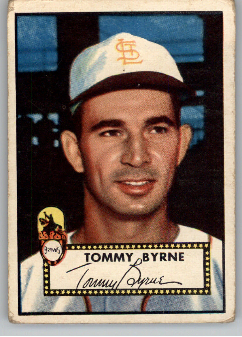 1952 Topps #241 Tommy Byrne