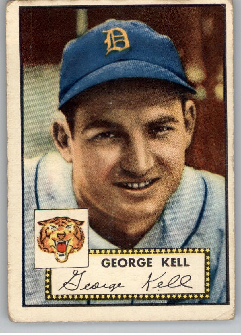 1952 Topps #246 George Kell