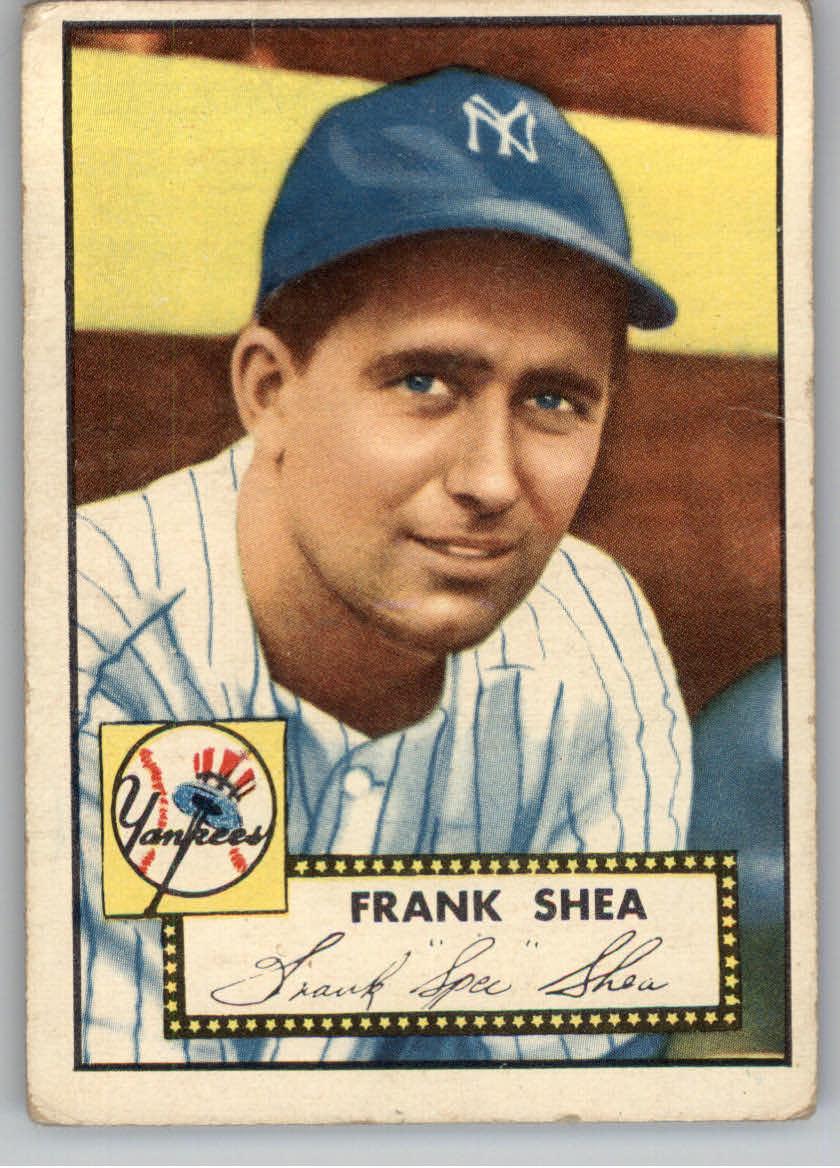 1952 Topps #248 Frank Shea