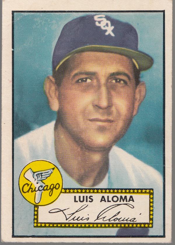 1952 Topps #308 Luis Aloma