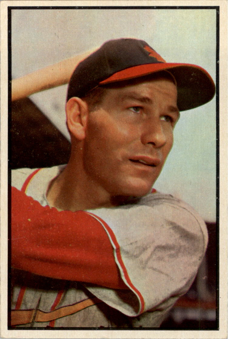 1953 Bowman Color #85 Solly Hemus